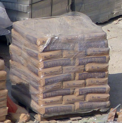 How many bags of Ready-Mix concrete on a pallet