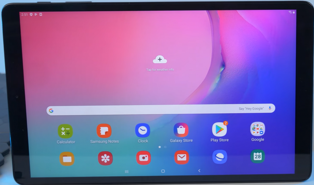 How to reset a Samsung Galaxy A tablet
