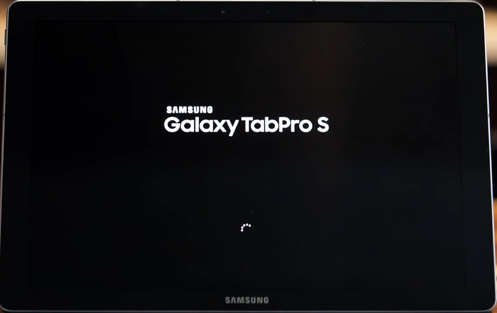 How to reset a Samsung Galaxy tablet Pro