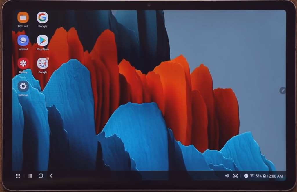 How to reset a Samsung Galaxy S tablet
