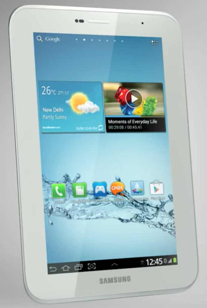 How to reset a Samsung Galaxy tablet 2