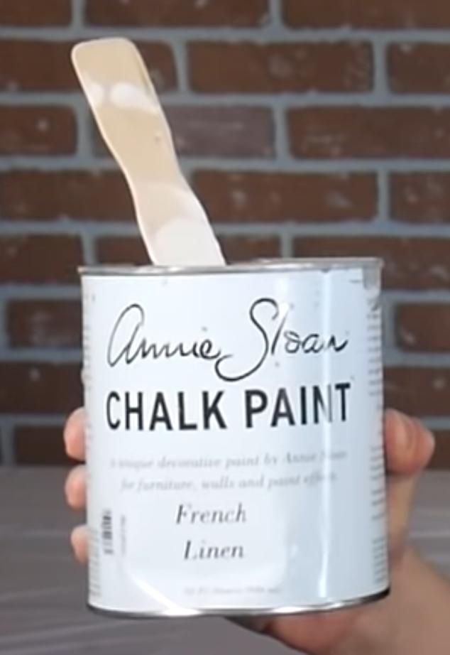 Low VOC or no VOC chalk paint