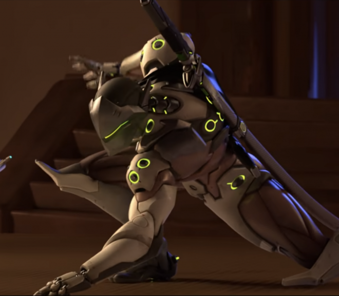 Genji ult quote in Overwatch