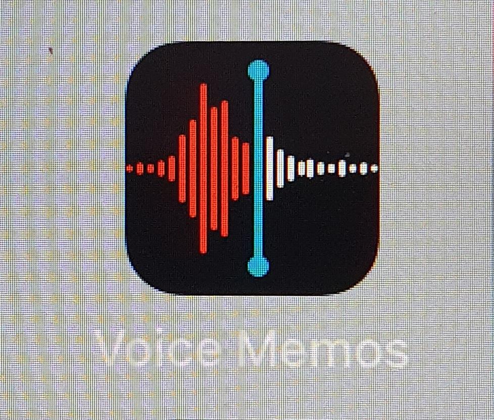 iPhone 6 - Voice memos app