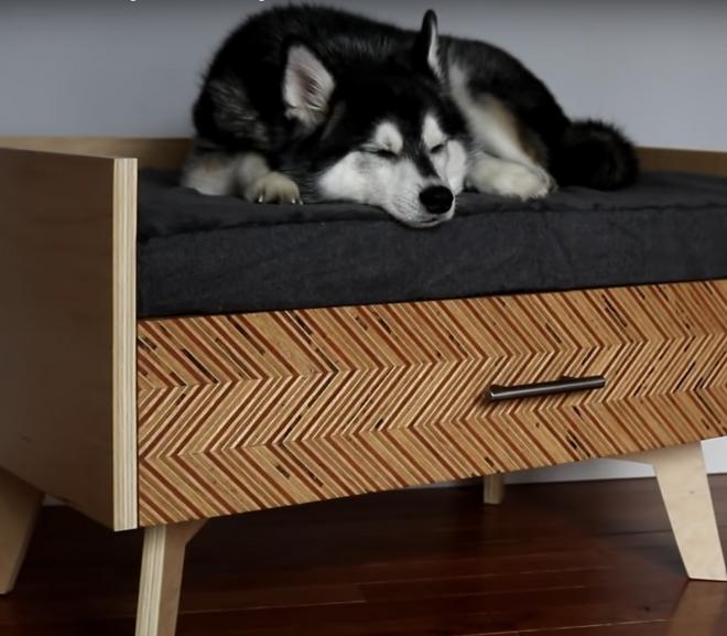 Fun DIY dog beds to match your home decor